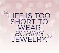 Jewelry quote