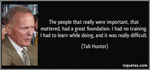 More Tab Hunter Quotes