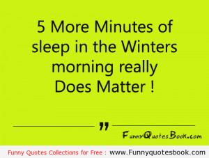 Funny Quotes about Winters