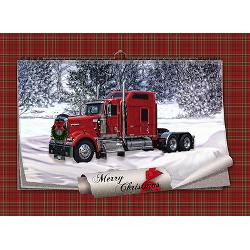 big_red_truck_in_snow_christmas_card.jpg?height=250&width=250 ...