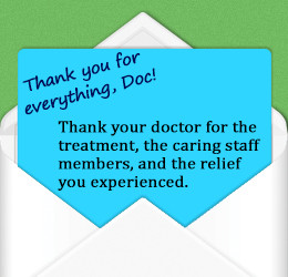 You Everything, Doc! Thank Your Doctor For The Treatment, The Caring ...