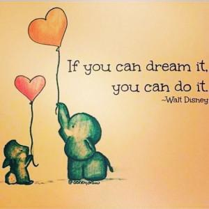 简单手绘卡通带字图片:如果你能梦到它,那么一定 ...