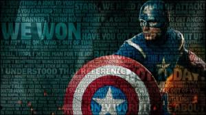 captain america quotes superheroes typography marvel comics the ...