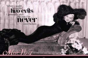 Mae West... coming soon!