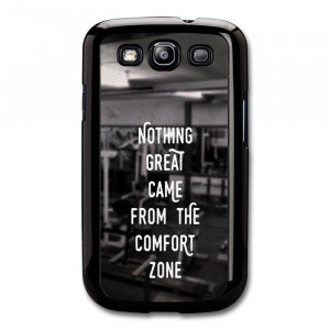 Gym Motivational Quote on Black and White Stylish Fashion coque pour ...
