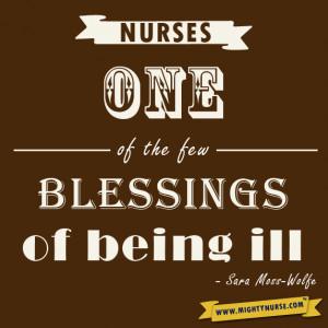 To be a Nurse