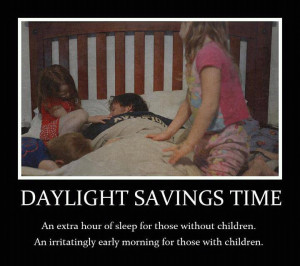 What Daylight Savings Time Really Means to Parents!