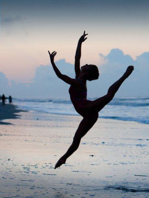 beach, beautiful, dance, dancing, flexibility, flip, girl, incredible ...