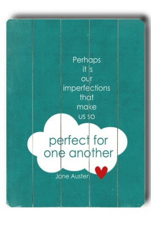Home » Picture Quotes » Love » Perfect for one another by Jane ...