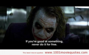 The Dark Knight (2008) - joker quote