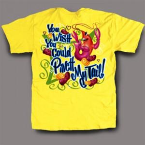 ST Pinch my Tail Crawfish Shirt-yellow shirts,fleur de lis,fleur de ...