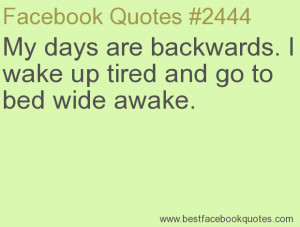 Wide Awake Images and Quotes