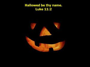 Out each of Bible Verses for Halloween bible them
