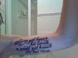 Marilyn Monroe Quotes A Wise Girl Tattoos