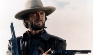 Clint Eastwood with a pair of Colt Walker 1847s as Josey Wales in The ...