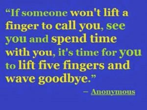 Time to say goodbye ..