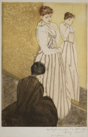 The Fitting Mary Cassatt