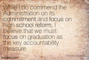 Commend The Administration On Its Commitment And Focus On High School ...