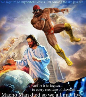 ... Jesus from his global murder spree with a well-timed elbow drop