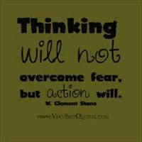quotes about fear overcoming fear by action quote inspirational quotes ...