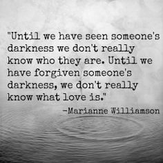 Someone's #darkness ... #love ~ #quote More