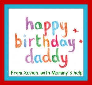 Happy Birthday Daddy Image