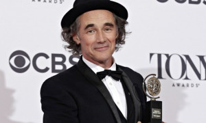 Mark Rylance in happier times. Photograph: Andrew Kelly/Reuters