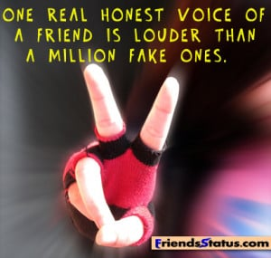 true and fake friends quotes