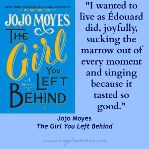 The Girl You Left Behind quotes