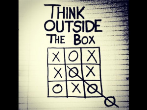 think outside the box. Do you? #QuoteIdeas, Tic Tac To, Inspiration ...