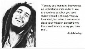 rain ~ Bob Marley motivational inspirational love life quotes sayings ...