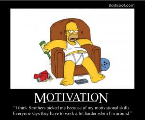 Homer Simpson Motivational Poster Motivation