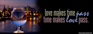 Love Makes Time Pass Cover Comments