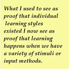 ... of conversations with my then phd adviser about the notion of learning