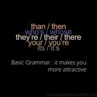 Grammar, Pets Peeves, Attraction Quotes, Pet Peeves, English Quotes ...