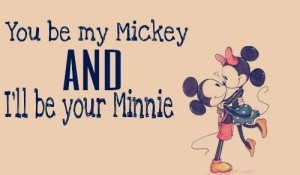 quotes mickey mouse love minnie mouse disney sweet cute