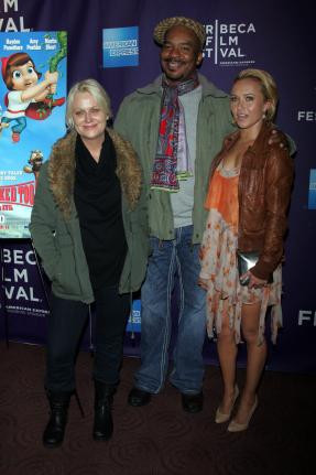 Amy Pohler, David Alan Grier and Hayden Panettiere arrive for the ...