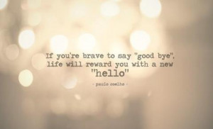 Good bye, Hello!