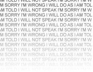 Wrong ~ Apology Quote