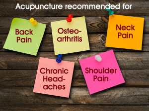 ... pain, osteoarthritis, neck pain, chronic headaches and shoulder pain
