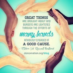 ... Russell #quote #volunteerism #NVM2014 National Volunteer Month More