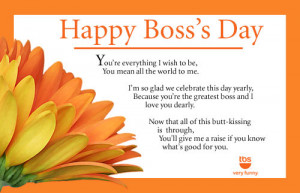 happy boss day quote /