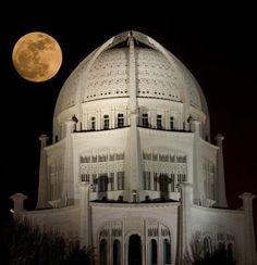 Baha'i House of Worship, Illinois, USA More