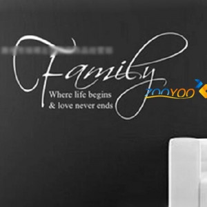 Toxic Family Quotes Pvc Family English Quote