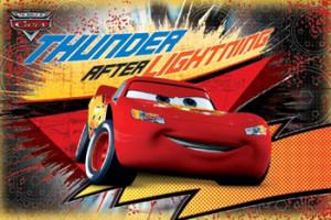 Disney-Pixar Cars THUNDER AFTER LIGHTNING McQueen Poster - Trends ...