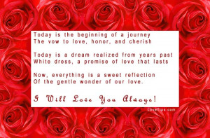 Marriage Poems And Quotes Wedding poems