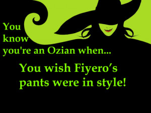 Wicked The Musical Wicked Glinda Quotes