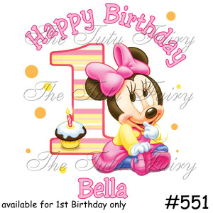 Disney Minnie Mouse personalized invitations with several fonts to ...