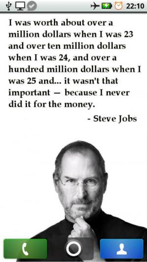 Steve Jobs - Quotes Wallpapers - screenshot