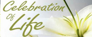 Rather than mourning the death, it is a celebration of one's life ...